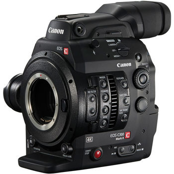 Rent Canon Cinema EOS C300 Mark II Camcorder Body with Dual Pixel CMOS AF