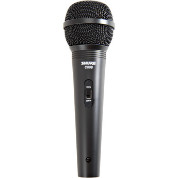 Rent Shure C608 Dynamic Handheld Microphone