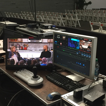 Rent Tricaster 8000 with HD Cameras