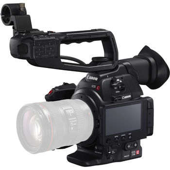 Rent NEW Canon C100 Mark II Kit (body only) with Pelican travel case, 3 Canon batteries, AC adapter, SD cards