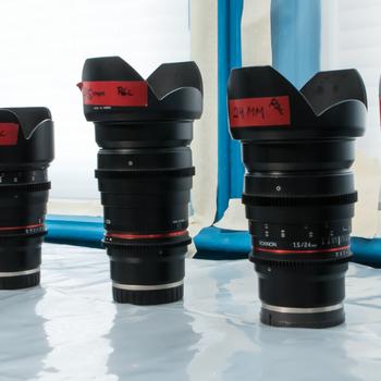 Rent Rokinon 5 Primes Lens Kit