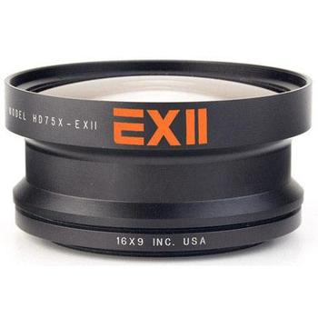 Rent 16x9 EXII 0.75x Professional Wide Angle Auxiliary Lens converter for 82mm Thread Compact HD Camcorders