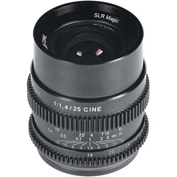 Rent SLR Magic E-Mount Cine Lens Kit (25mm, 35mm, 50mm, 75mm)