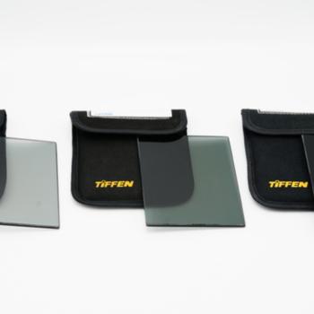 Rent Tiffen 4x5.65-in Neutral Density Filter Set : 3, 6, 9