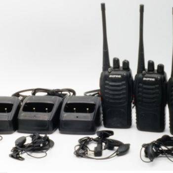 Rent 4 Walkie Talkies with Headsets
