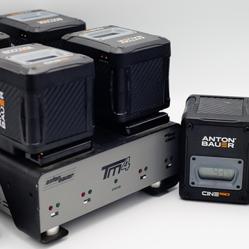 Rent Anton Bauer Cine 150 Gold-Mount & CHARGER PACK
