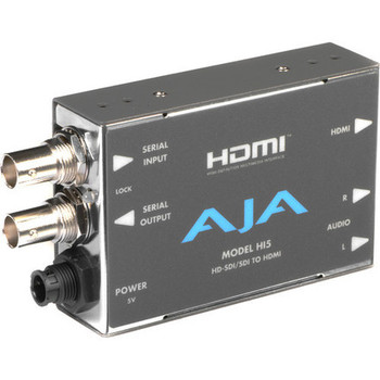 Rent AJA HA5 HDMI to SD/HD-SDI Video and Audio Converter