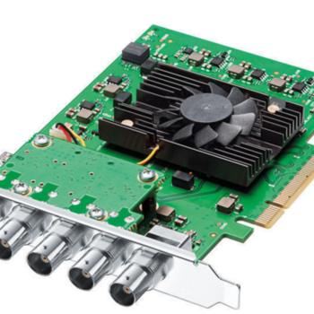 Rent Blackmagic Design DeckLink 4K Pro 12G-SDI Video Card