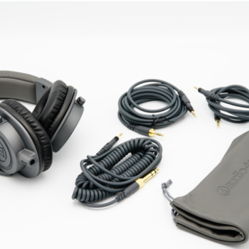Rent Audio-Technica ATH-M50x Monitor Headphones (Matte Gray)
