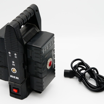Rent RED Brick Charger w/ 2 Batteries