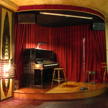 Rent Speakeasy with Stage, PA, and 8 Channel Mixer