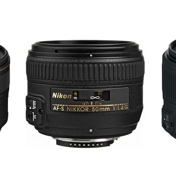 Rent Nikon 85 F1.4, 50 F1.4, 35 F1.8 - ultimate prime lens set