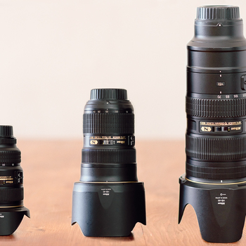 Rent Nikon 70-200 F2.8, Nikon 24-70 2.8, Nikon 17-35 F2.8 - Ultimate Nikon zoom lens set