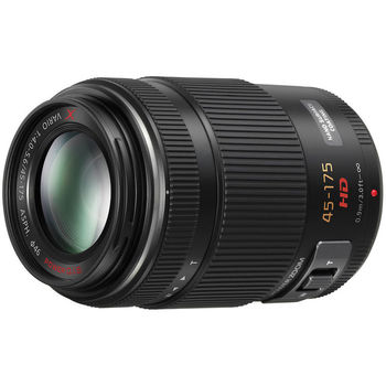 Rent Panasonic Lumix G X Vario PZ 45-175mm power zoom lens with image stabilization