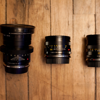 Rent Leica R 3-Lens Kit (35mm, 50mm, 90mm)