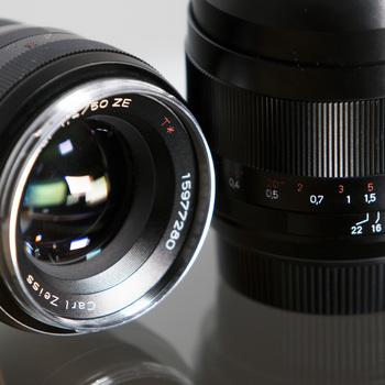 Rent Zeiss ZE Distagon Prime Lens Kit (EF mount)