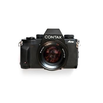 Rent Contax Aria 35mm SLR - Carl Zeiss Planar 50mm f/1.4 lens