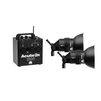 Rent Profoto Acute 2R 1200 Kit - 2 Pro Heads + Extras
