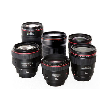 Rent Lot of 6 Canon Prime L Series Lenses