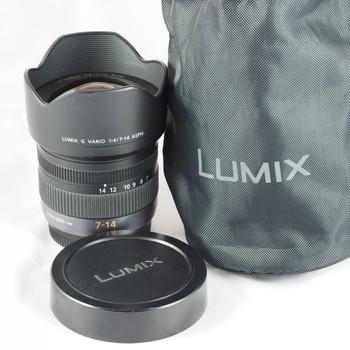 Rent Panasonic Lumix G Vario 7-14mm f/4 ASPH. Lens