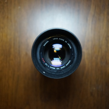 Rent Canon FD 85mm 1.8 Manual Focus Lens w/ Sony E Adapter