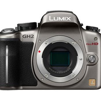 Rent Panasonic Lumix DMC-GH2 Mirrorless Micro Four Thirds Digital Camera (silver)