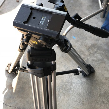 Rent Miller Arrow 30 Fluid Head + Aluminum Tripod + Spreaders