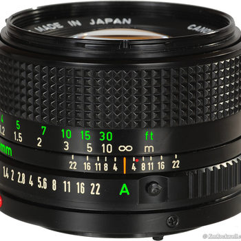 Rent Super fast Canon manual prime lens with micro 4/3 adapter