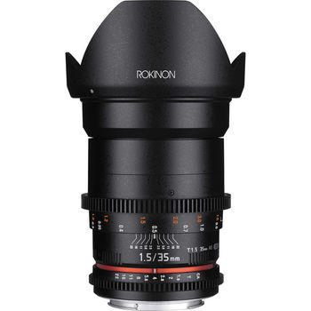 Rent Rokinon 35mm T1.5 Cine DS Lens - Canon EF Mount