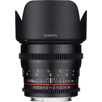 Rent Rokinon 50mm T1.5 Cine DS Lens - Canon EF Mount