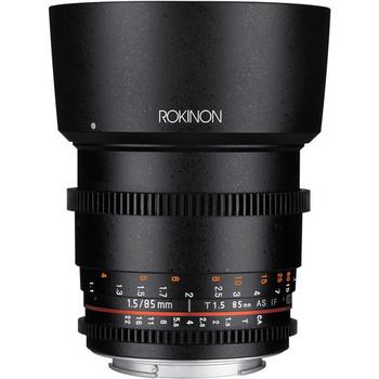 Rent Rokinon 85mm T1.5 Cine DS Lens - Canon EF