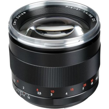 Rent Zeiss 85mm f/1.4 ZE Planar T Lens