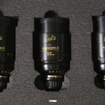 Rent COOKE ANAMORPHIC | 3 Lens Set