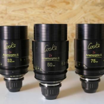 Rent COOKE ANAMORPHIC   4 Lens Set
