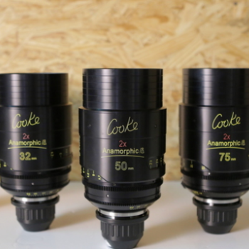 Rent COOKE ANAMORPHIC | 5 Lens Set | Full Package