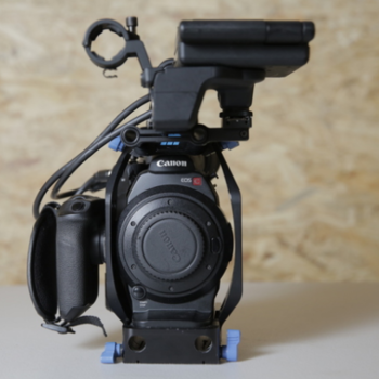Rent CANON C300 MK1 w/ Lens
