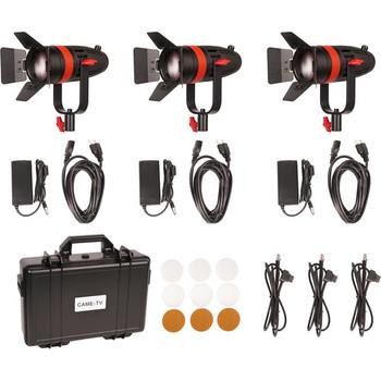 Rent CAME-TV Boltzen 55W Focusable LED Fresnel 3-Light Kit