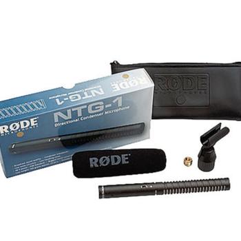 Rent Rode NTG1 Condenser Shotgun Mic