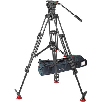 Rent Sachtler System FSB 10 T ENG 2 MCF with Touch & Go  Plate - 100mm