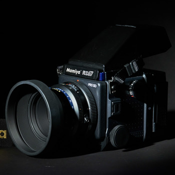 """Rent Mamiya RZ67 Professional Pro II """"D"""" Medium Format SLR with light meter and color checker passport"""