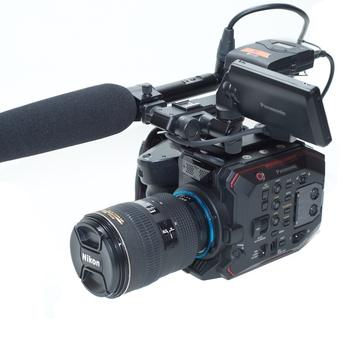 Rent Panasonic EVA1 5.7K S35 Documentary Package (EF or PL)