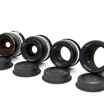 Rent Nikon Prime Lenses, set of 4 (24, 35, 50, 85) w/ extras