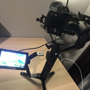 Rent Sony A7sii Handheld Package + Monitor