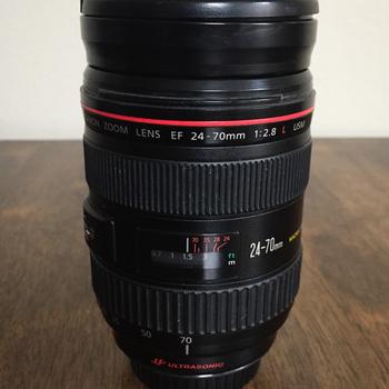 Rent Canon 24-70mm 2.8 L