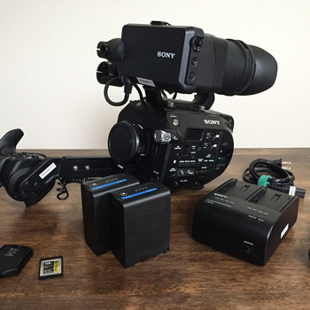 Rent Sony PXW-FS7 Package