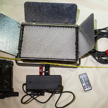 Rent Aputure LightStorm LS1-C Bi Color and Softbox