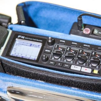 Rent Zoom F4 field mixer/recorder, bag, battery, headphones