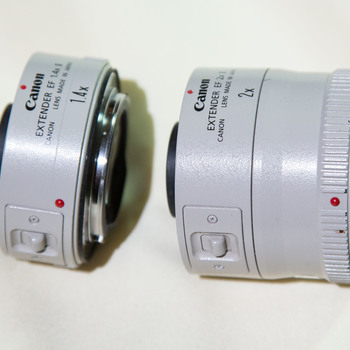 Rent Canon 2X and 1.4x Lens extenders.