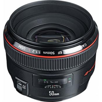 Rent Canon EF 50mm f/1.2L USM Lens