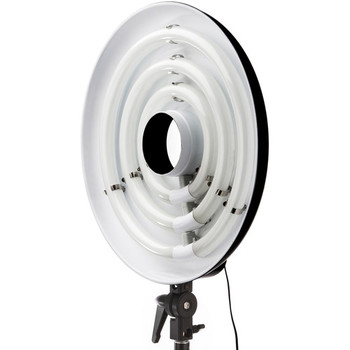 Rent Impact FRC-RL19 3-Lamp Fluorescent Ring Light with stands